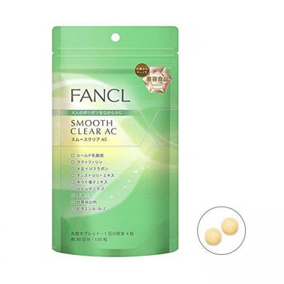 viên uống fancl smooth clear ac